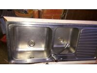 Big kitchen Sink with Tap in good condition.