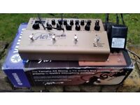 Yamaha AG Stomp (in mint condition) - classic acoustic guitar Preamp/Mic Modeling/EQ & FX processor