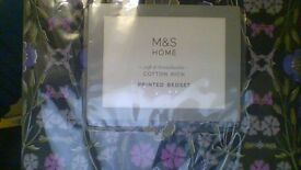 M&S Home Printed Bedset