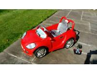 Ride on toy car battery operated