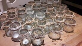 43 Decorated Wedding Jars