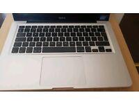 Mac book pro laptop keyboard and trackpad. Parts