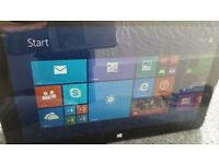 microsoft 10.6 surface tablet great condition unmarked screen 32g 2g office rt free 64gb usb drive
