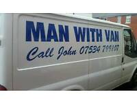 REMOVALS MAN WITH VAN from £15