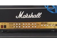 Marshall Head and 2 Amps