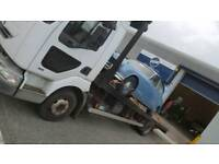 beavertail lorry 7.5 ton