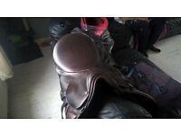 jefferies brown saddle