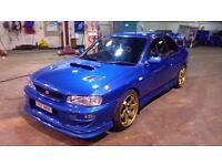 Subaru Impreza WRX STI TYPE R 320BHP RARE CLASSIC!