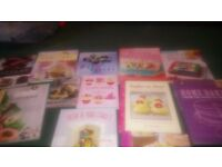 Cookery books.. Cupcakes.. Novelty cakes