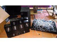 Samsung HT-C5500 Blu Ray player 5.1 Surround sound system