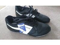 Mens black Dunlop Trainers - Size 7