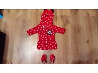 Baby dressing gown, swim suits and swim nappies