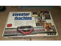 Incredible Sweater Machine