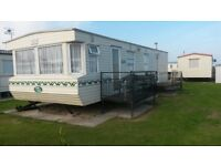 !!CANCELLATION!! 24th-31st August. 6 berth 2 bedroom caravan for rent on coral beach.