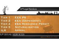 Immigration professional Visa service - Tier 2, Tier 1, ILR, EEA, FLR(O), Appeal, Bail, EEA PR