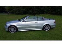BMW 320CD SPORT CABRIOLET FSH LOW MILEAGE