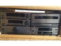 Pioneer Multi-stack CD & Tape Player