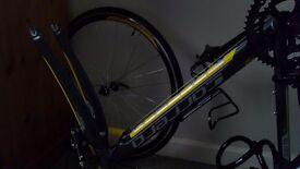 Mens 18inch Carrera Road Bike for spares or Repair
