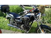 Lexmoto ranger 600 miles only 125cc