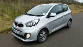 2014 Kia Picanto 1.0 Low Insurance & Free Road Tax