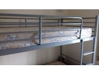 Bunk Beds (Metal Frame) with Mattresses.