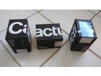 3 x Cactus V6 Flash triggers