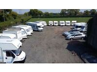 CARAVAN STORAGE -SECURE- HARD STANDING-ELECTRONIC ENTRY- CCTV