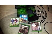 Xbox One with Kinect 500GB plus games./ re advertised due to selling TV
