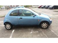 ford ka 1.3 blue 2002