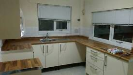 Kitchens and bathrooms supplied and fitted