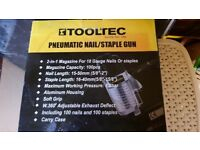 pneumatic nail and staple gun brand new in box