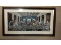 last supper punch craft needlework picture