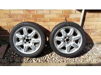 ROVER 75 WHEELS AND TYRES.