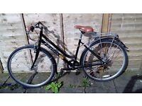 "2 adult bikes. 1 x ladies bike, 26"" frame classic rambler. 1 x male 26"" apollo bike. Good condition."