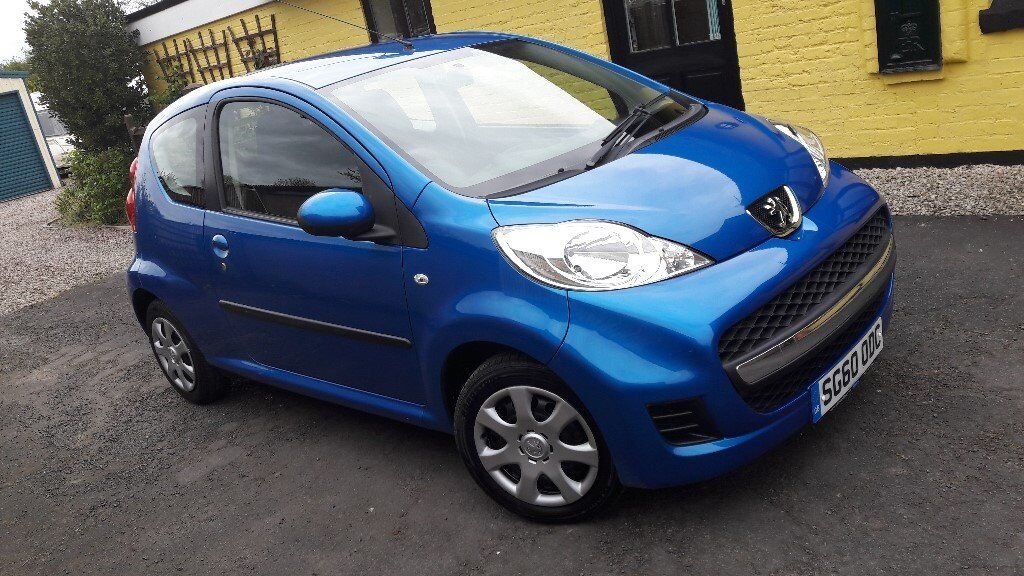 Peugeot 107 Urban 1.0L 3 Door, '60' Reg, 2010, Just 44000 Miles.