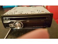 Jvc face off car cd player
