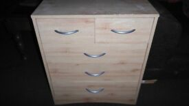 Small chest of drawers.