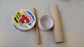 Mixed cardboard item's