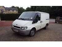 2005 FORD TRANSIT 2.0 TDI 260 SWB 3DR. PLY LINED. EXCELLENT DRIVE. REMOTE CENTRAL LOCKING & ALARMED