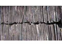 Handmade Staffordshire Blue clay roof tiles from 1875 terrace house