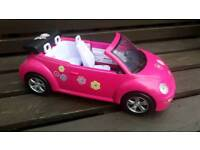 STEFI (Barbie) convertible pink beetle