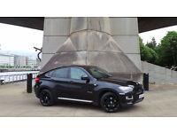 2012 62 BMW X6 3.0D 30D AUTO BLACK 4x4 DIESEL (FINANCE AVAILABLE)