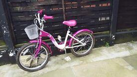 Cute girls bike