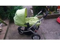 Mother care pram, forward and rear facing pushchair