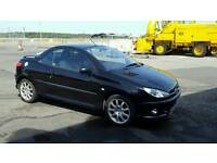 Peugeot 206 cc great for the summer