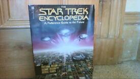17 Star Trek books plus one audio cassette