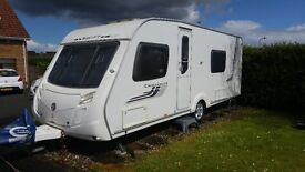 2009 Swift Challenger 570 Fixed Double Bed, End Bathroom, 4 Berth