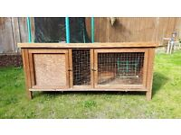 Rabbit / Guinea Pig Hutch For Sale, Very Good Condition