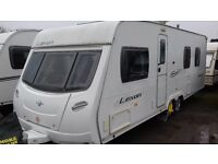 2007 MUCH SOUGHT AFTER ISLAND BED LAYOUT. LUNAR LEXON 640 TWIN AXLE SERVICED 2016 LOVELY CONDITION.