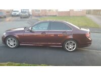 Mercedes C220 CDi Sport with AMG body kit and Command Infotainment